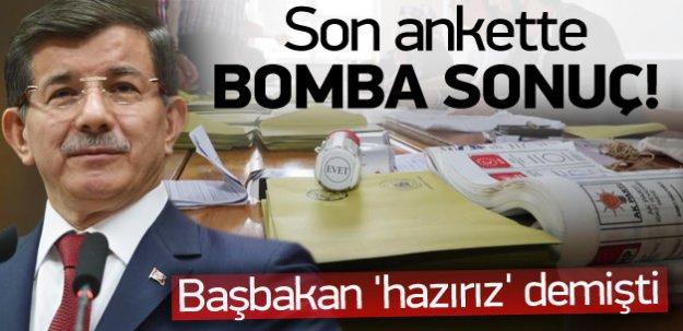 AK Parti'nin son anketinde bomba sonuç