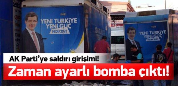 AK Parti'ye bombalı saldırı girşimi