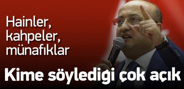 Akdoğan'dan paralel yapıya: Hainler, kahpeler