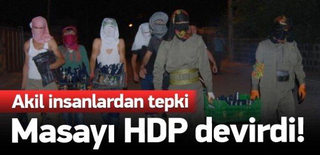 Akil insanlardan tepki: Masayı HDP devirdi