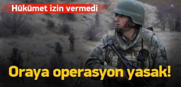 Asker yaylalarda operasyon yapmayacak