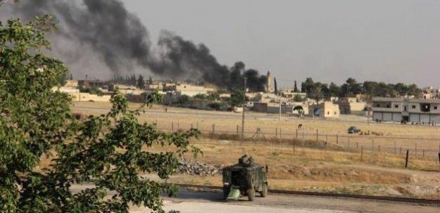 Askeri araçlara Suriye topraklarından ateş