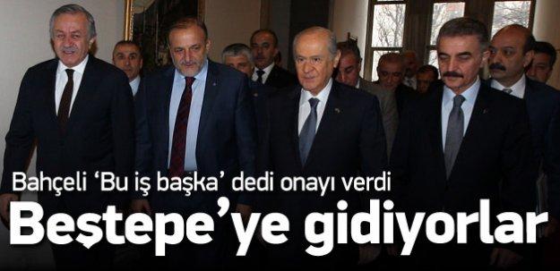 Bahçeli onayı verdi, MHP'liler Beştepe'ye gidiyor