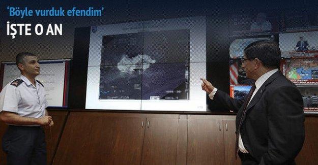 Başbakan Davutoğlu operasyonla ilgili bilgi aldı