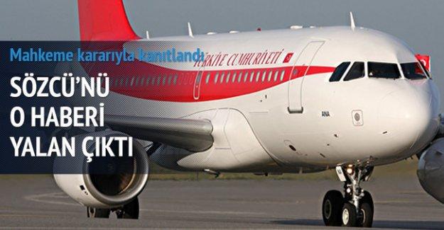 "Başbakanlıktan ""ANA"" uçağı açıklaması"