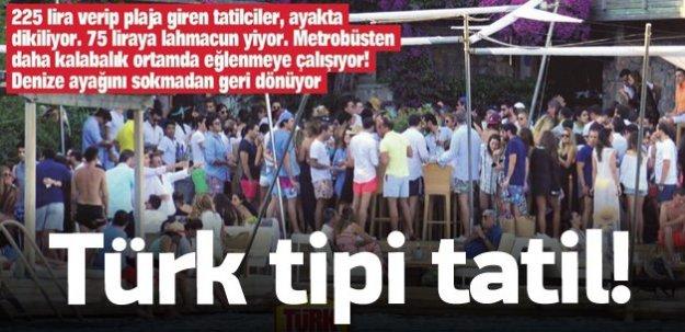 Bayram'da tüm İstanbul Bodrum'a akın etti