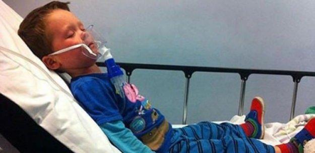 Beş yaşındaki çocuk egzama yüzünden ölmek istiyor