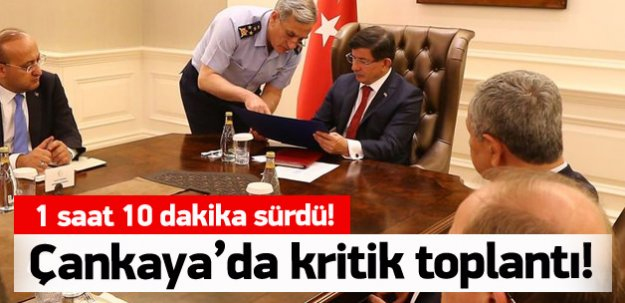 Çankaya Köşkü'nde kritik toplantı!