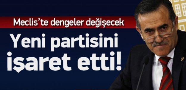 CHP'den istifa eden vekil yeni partiyi işaret etti