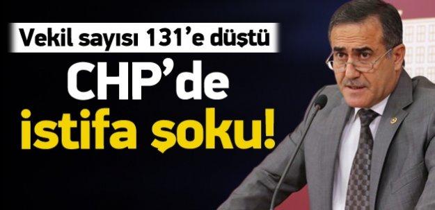 CHP İstanbul Milletvekili istifa etti