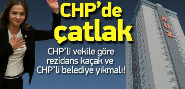 CHP'li vekil: Ataşehir'deki kaçak rezidansı yıkın
