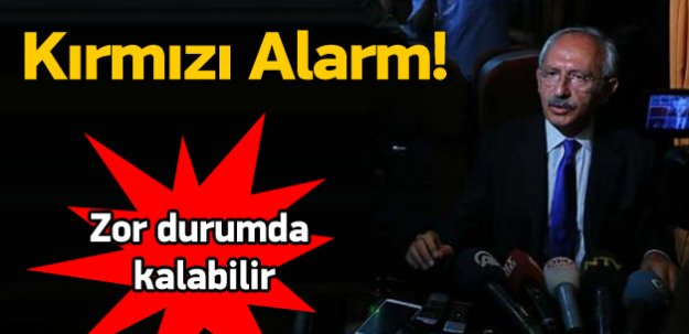 CHP'de kırmızı alarm! Zor durumda kalabilir