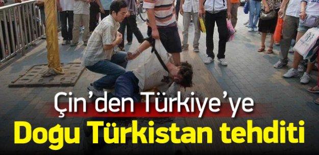 Çin'den Türkiye'ye Doğu Türkistan tehditi