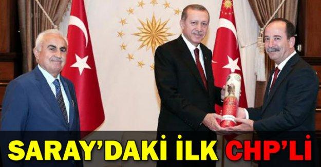 Cumhurbaşkanlığı Sarayı'ndaki ilk CHP'li
