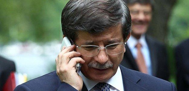 Davutoğlu'ndan Barzani'ye telefon!