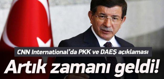Davutoğlu'ndan PKK ve DAEŞ açıklaması