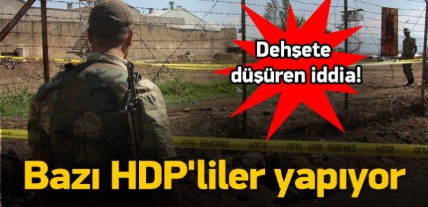 Dehşete düşüren iddia! PKK'ya tünel kazıyorlar