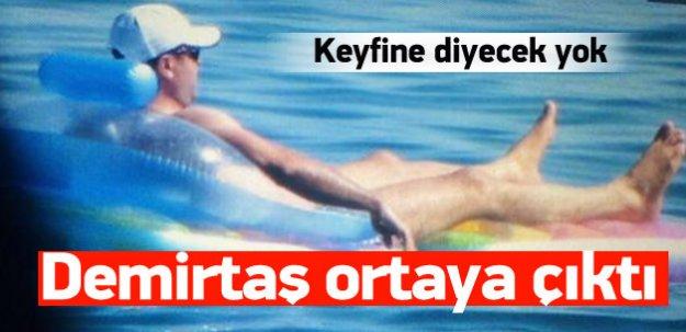 Demirtaş'ın havuz fotoğrafları interneti salladı