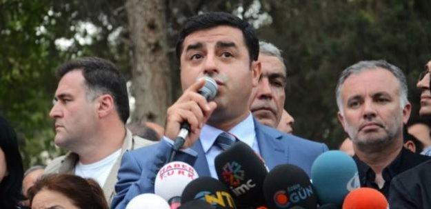 Demirtaş'tan Bülent Arınç'a jet yanıt!