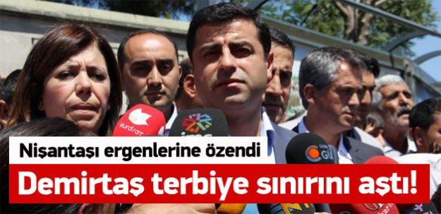 Demirtaş'tan Davutoğlu'na: Hadi cnm inş ya!