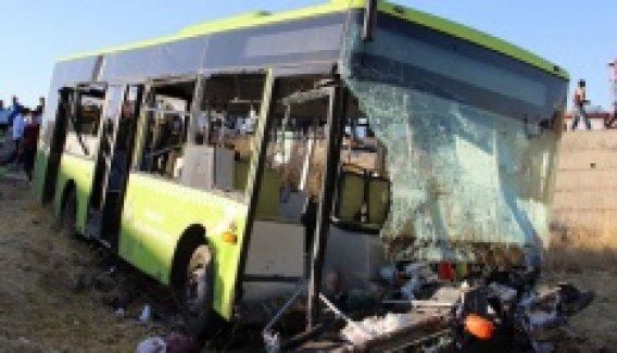 Diyarbakır'da korkunç kaza! 20'nin üzerinde yaralı