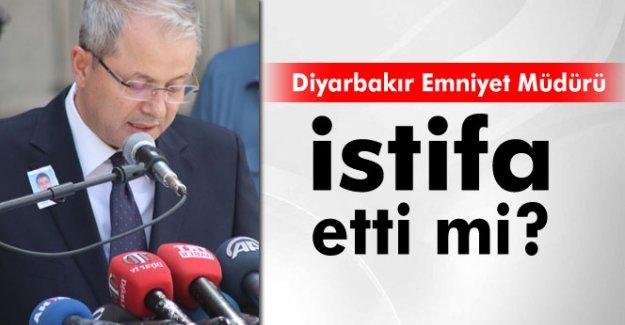Diyarbakır Emniyet Müdürü Böğürcü: 'Görevimin başındayım'