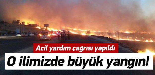 Diyarbakır'ıda büyük yangın!