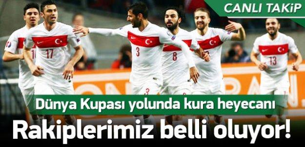 Dünya Kupası kura çekimi! / CANLI