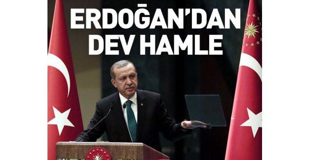 Erdoğan'dan dev yazılım hamlesi