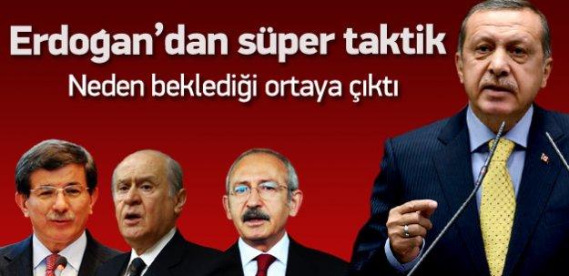 Erdoğan'dan seçim sonrası süper taktik
