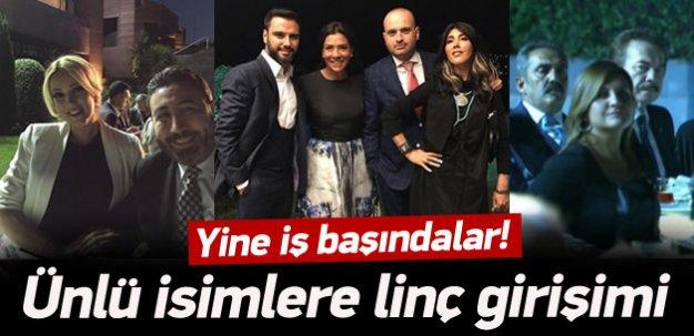 Erdoğan iftarına katılan sanatçılarla linç