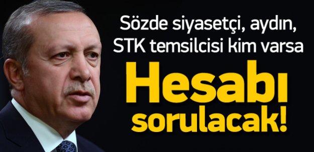 Erdoğan: Şehitlerimizin hesabı sorulacak!