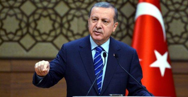 Erdoğan terör saldırısı hakkında bilgi aldı