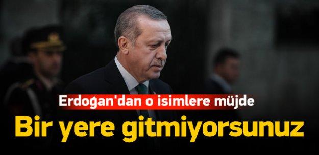 Erdoğan'dan 3 dönemliklere müjde