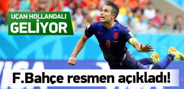 Fenerbahçe Van Persie'yi borsaya bildirdi