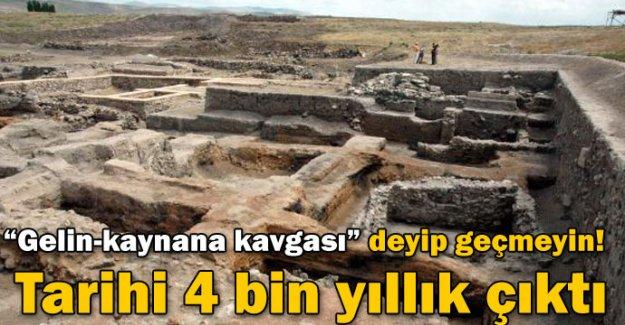 Gelin-kaynana kavgasının tarihi 4 bin yıllık çıktı