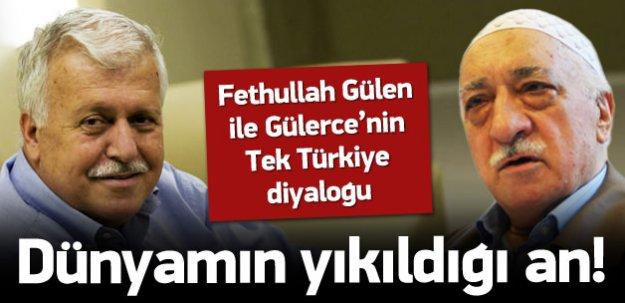 Gülerce'nin Gülen'le Tek Türkiye diyaloğu
