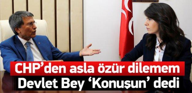 Halaçoğlu: CHP'den özür dilemem