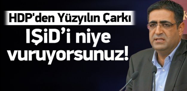 HDP'den IŞİD operasyonuna tepki!