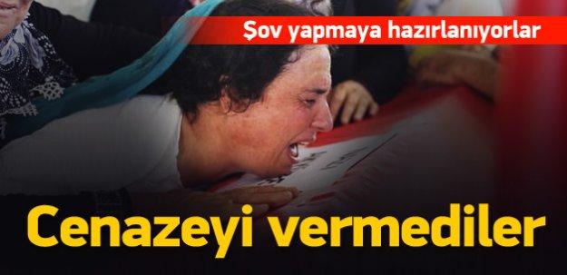 HDP'liler propaganda için cenazeyi vermedi