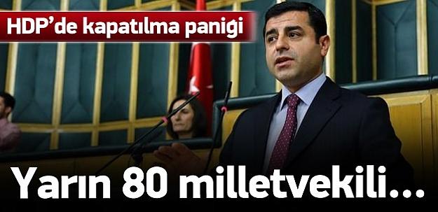 HDP'nin kapatılması iddialarına sert tepki