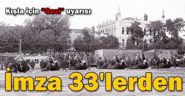 İmza 33'lerden