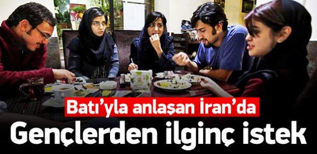 İranlı gençler McDonald's istiyor