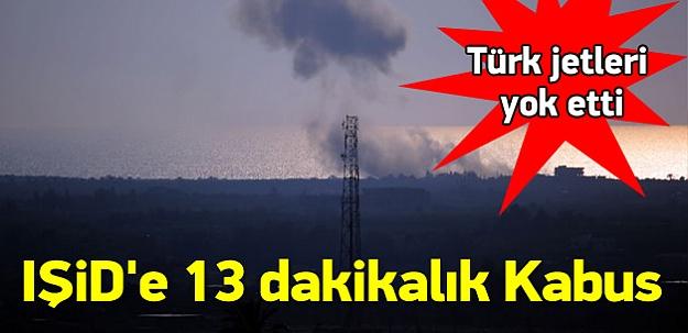 IŞİD'in 2 karargahı ve 1 merkezi vuruldu