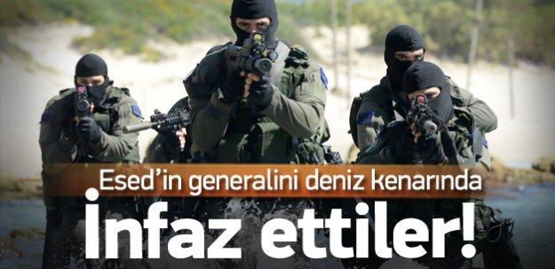 İsrail Esad'in generalini infaz etmiş!
