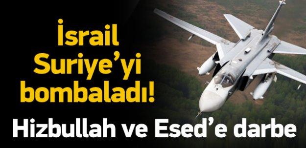 İsrail Suriye'yi insansız hava aracıyla vurdu