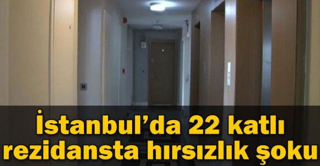 İstanbul'da 22 katlı rezidansta hırsızlık şoku