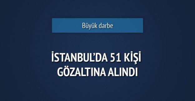 İstanbul'da büyük operasyon: 51 gözaltı