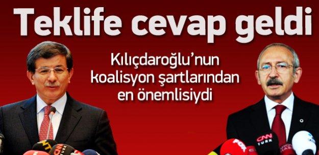 Kılıçdaroğlu'nun teklifine AK Parti'den yanıt