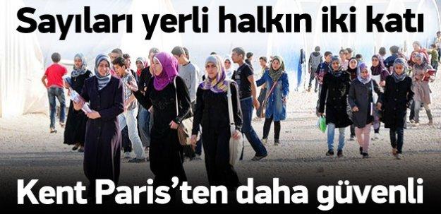 Kilis Suriye'nin bir kenti adeta!
